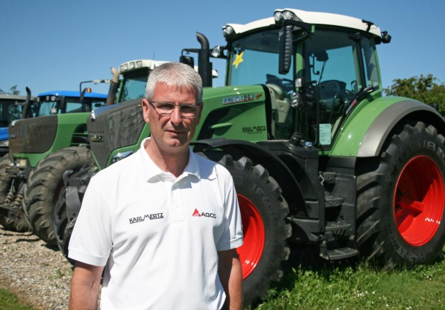 Karl Mertz går markant frem: Vi har ikke i nyere tid solgt så mange nye traktorer