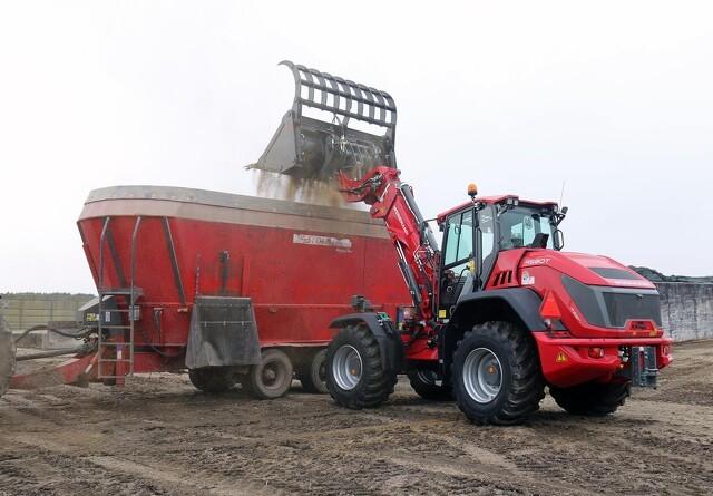Knækstyret teleskoplæsser erstatter frontlæsse-traktoren