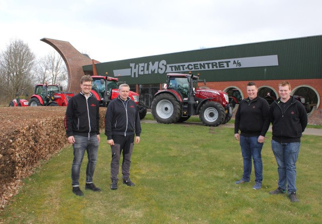 Aarestrup Traktor og Maskiner forhandler nu McCormick i Himmerland