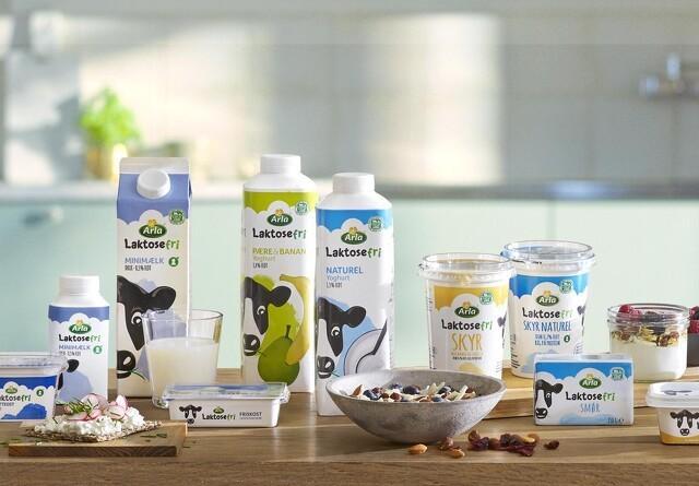 Arla udvider serien af laktosefri produkter