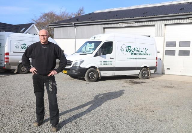 Service-forretningen udvides langsomt