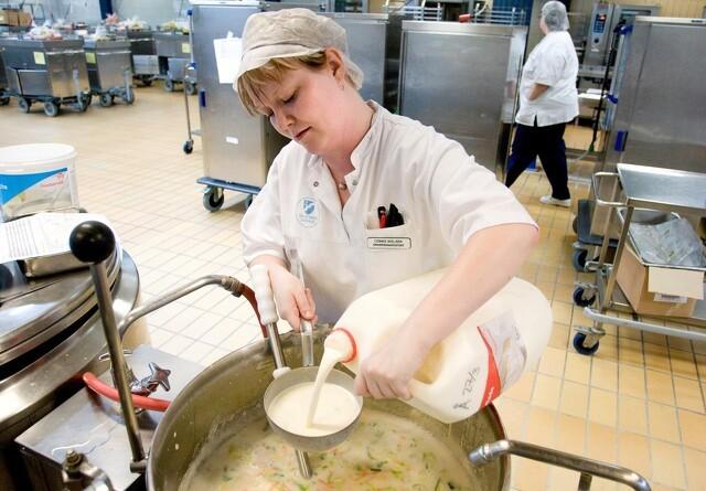 Tiltrængt fremgang for mejeriers foodservice-salg