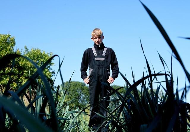 12-årig landmand: - Det er dejligt at have sit eget