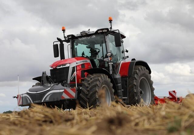 Målrettet transmission-valg i helt nyudviklet traktor-generation