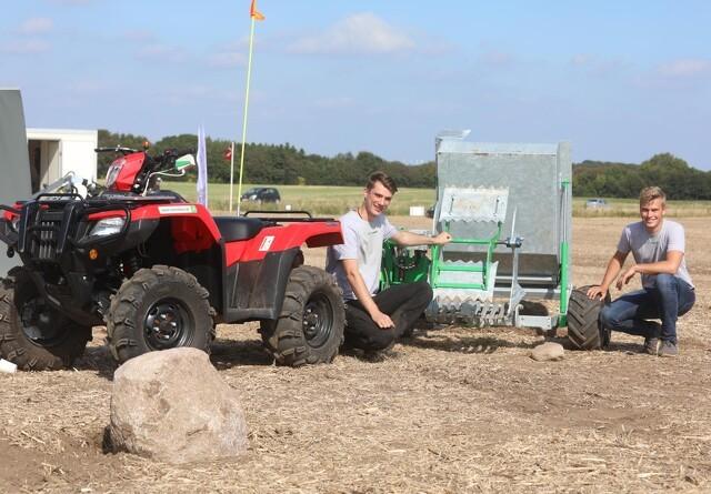 Ung iværksætter har rundet 100 stensamlere til ATV'en