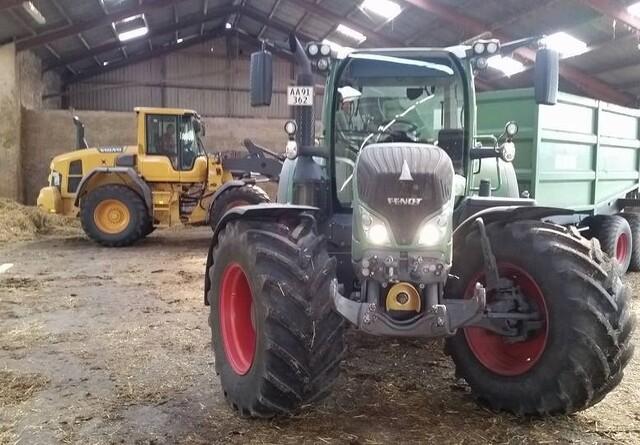 Høstmareridt: Traktor og vogn stjålet