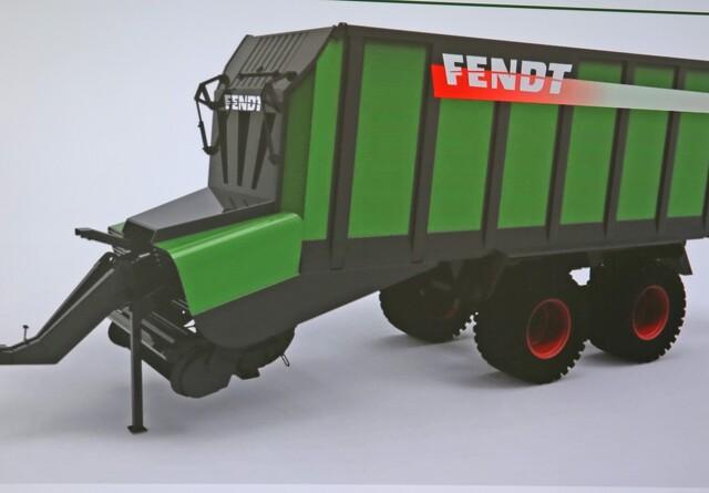 Snittervogn på vej fra Fendt