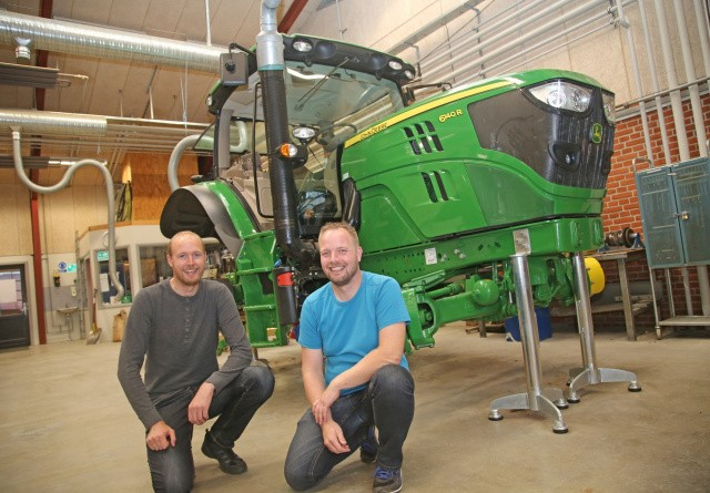 Ny John Deere Direct til Aars