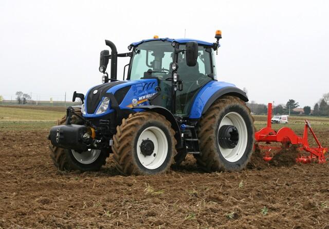 Ny T5 er forbedret som læssetraktor