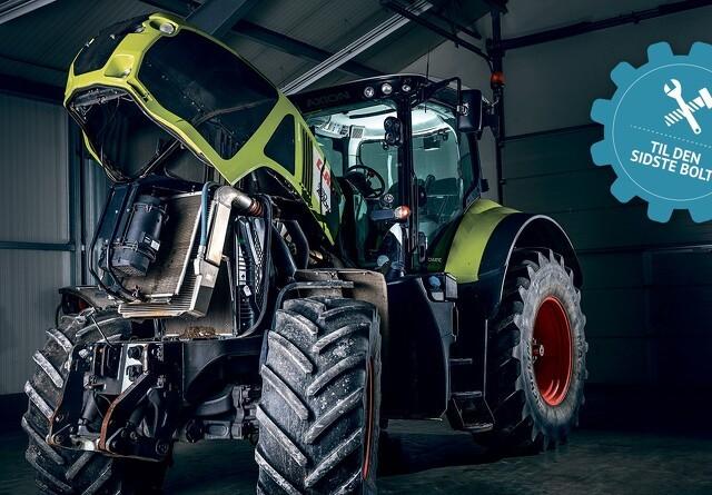 Til den sidste bolt: Hvor stort er sliddet i en brugt traktor?