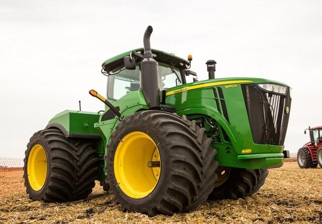 Goodyear præsenterer verdens bredeste traktordæk