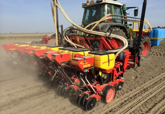 Twin-row kan give udbyttefremgang