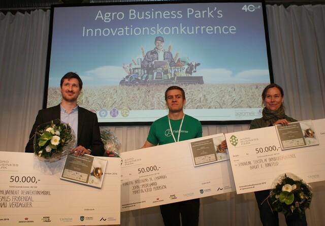 Tre innovationspriser