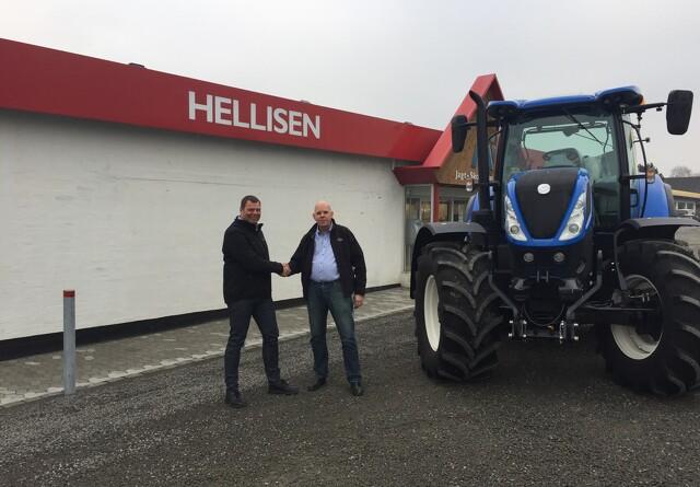 Johs. Mertz skal sælge traktorer på Bornholm