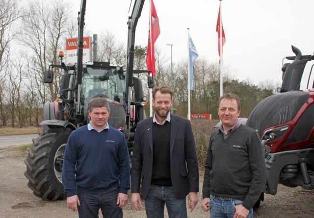 Midtjylland deles af to Valtra-forhandlere