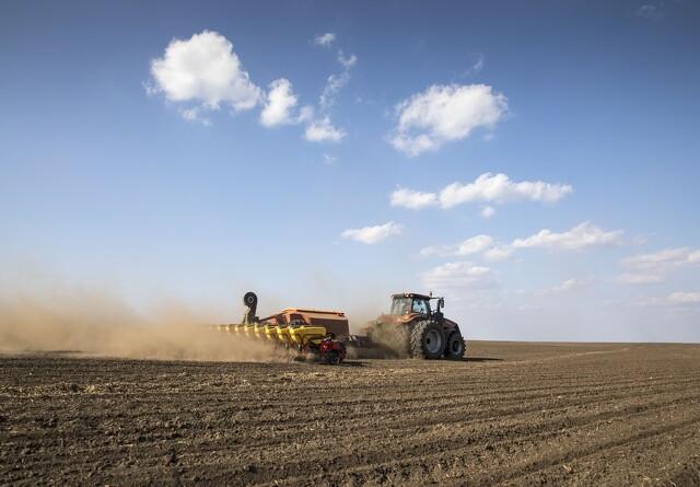 Ny verdensrekord: 502 hektar majs sået på 24 timer