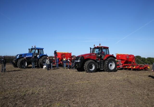 Større salg i landbrugsmaskiner