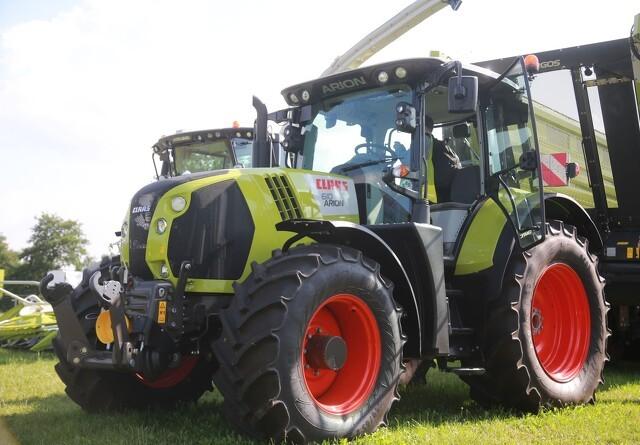 Nye traktorer fra Claas