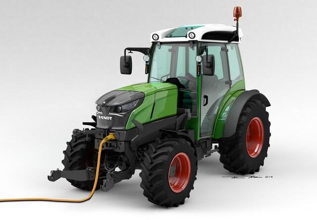 100 procent elektrisk traktor fra Fendt