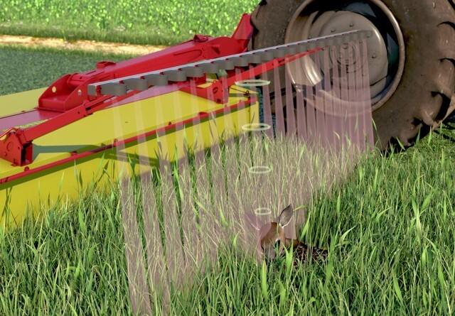 Pöttinger scanner græsset for dyr
