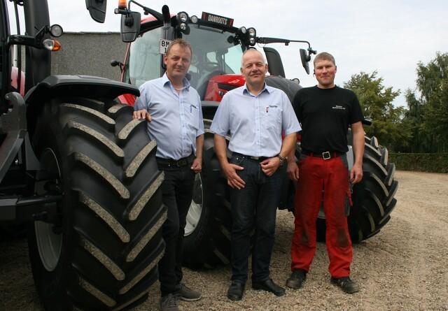 Traktorsalg går strygende i Kjellerup