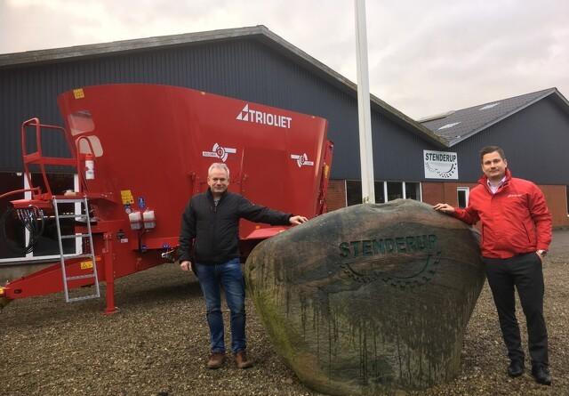 Stenderup er ny importør af Trioliet Feeding i Norge