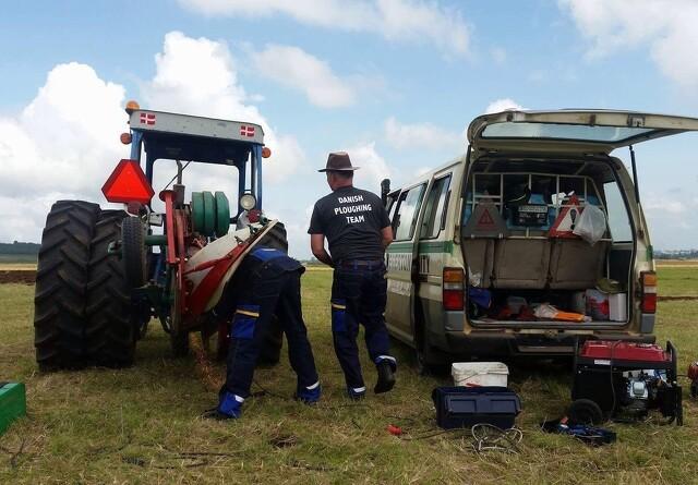 Danske VM-pløjere klar til kenyansk folkefest