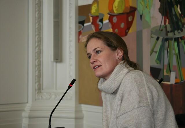 Maria Reumert Gjerding stiller op som DN præsident