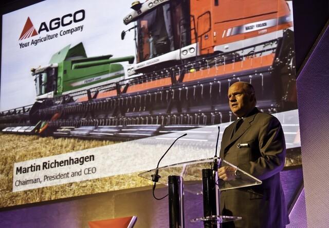 Agco viste fremgang i 2017
