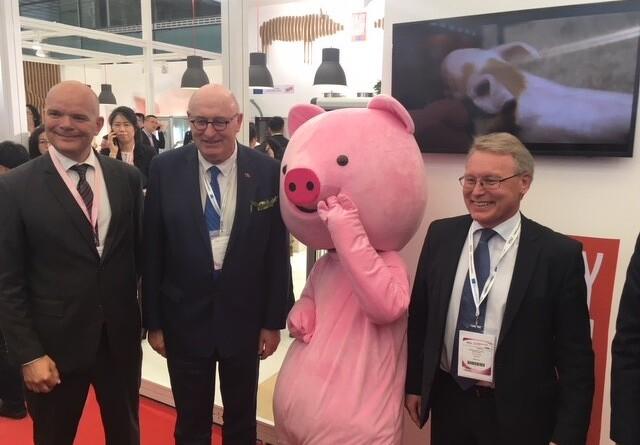 Kinesere kan fordoble eksporten af svinekød