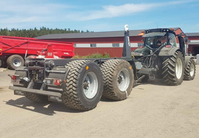 Nye vogne og kroghejs med hjultræk fra Metsjö