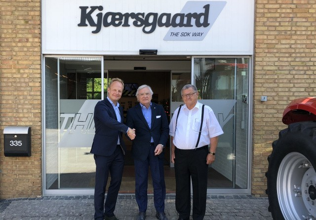 S.D. Kjærsgaard bliver Dieci Construction-importør