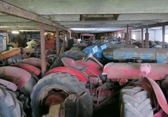 Traktorauktion har indtjent 325.000 kr.