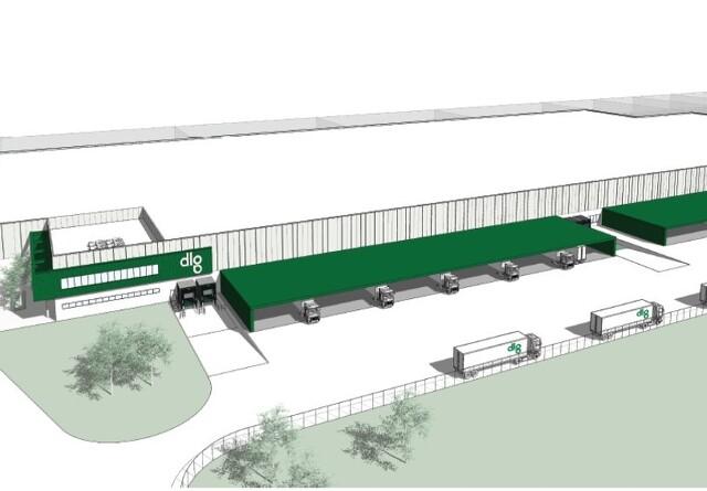 DLG indgår aftale om stort logistikcenter