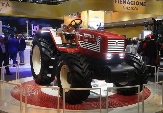 Fiat-traktoren er tilbage