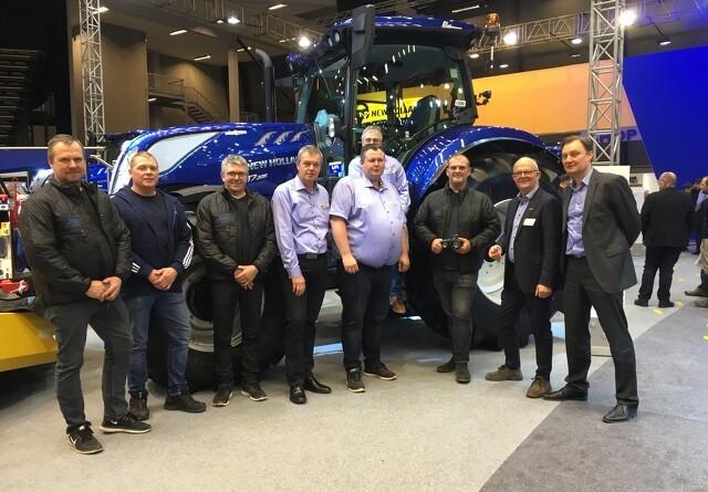 21 traktorer til Bounum Maskinstation