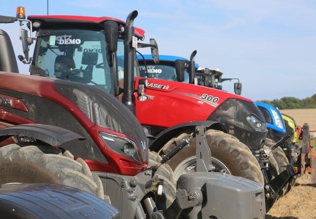 Den gennemsnitlige traktor vokser og vokser