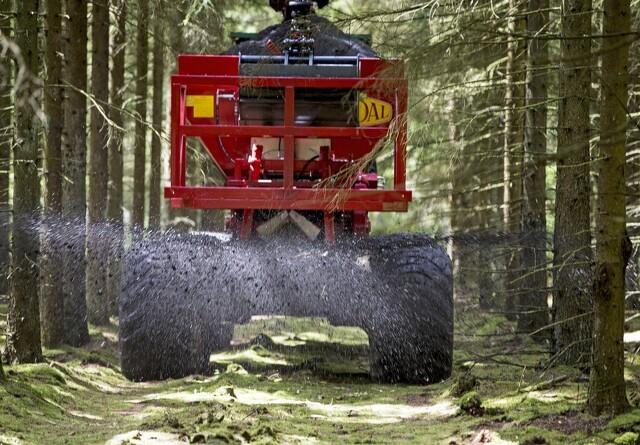 Bæredygtig spredning af aske i skoven