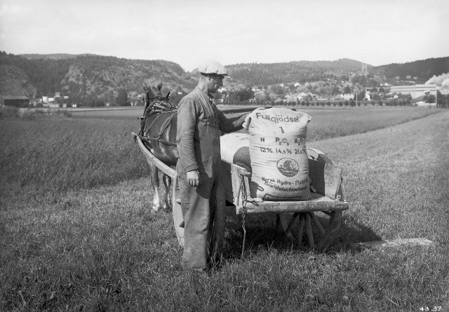 Yara med 100 år i landbruget