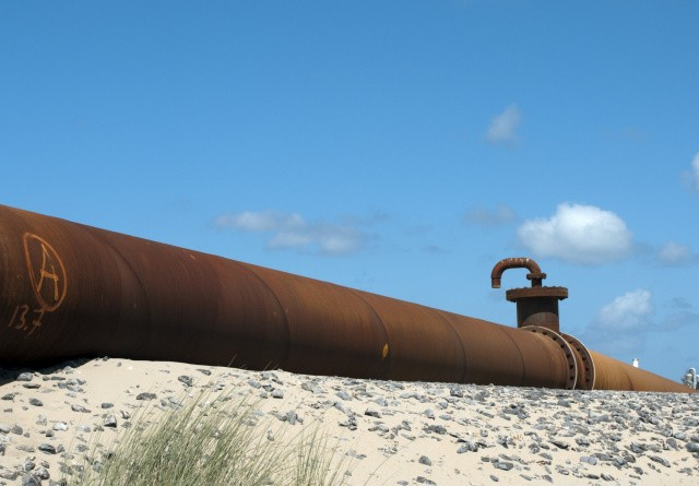 Stor gasledning frustrerer landmænd