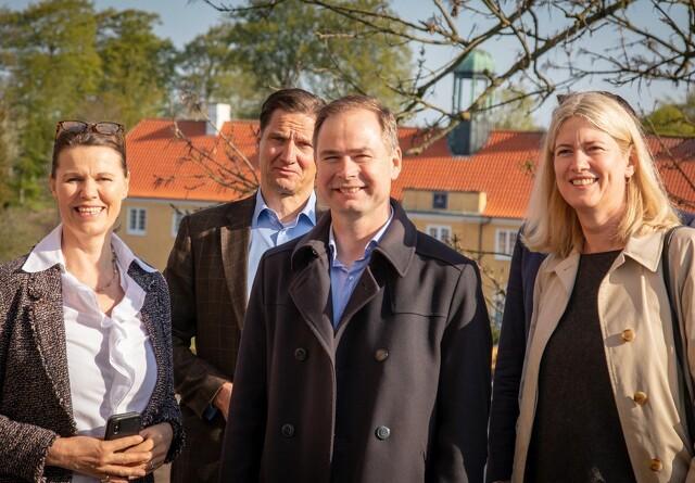 Wammen: Stor anerkendelse af arbejdet på Møllerup Gods