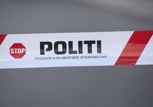 Brand i bigballer i Sønderjylland