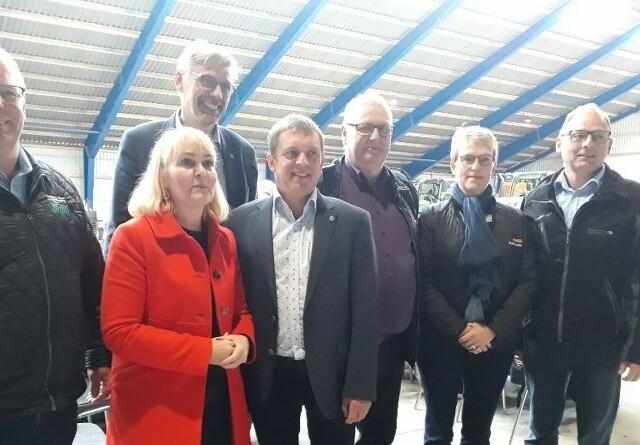 EU-møde om bacon-eksport hos svineproducent