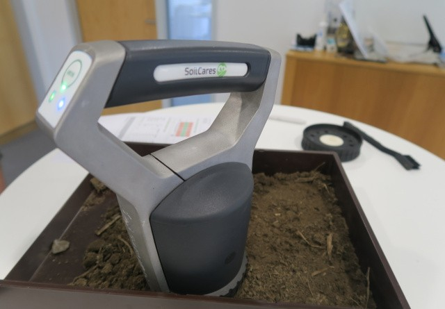 SLF i forsøgsordning med jordscanner