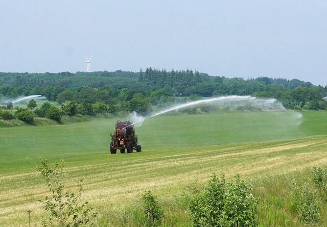 Ubrugte kubikmeter vand frigivet til markvanding
