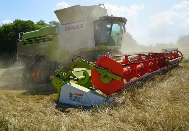 Høstteknik i korn og grovfoder