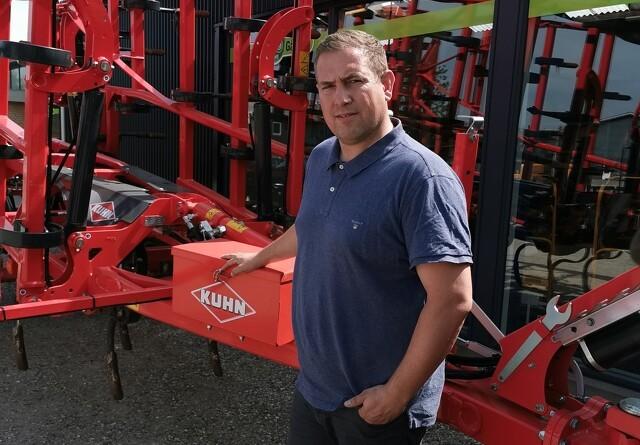 Traktorgården Give stopper som Deutz-Fahr-forhandler