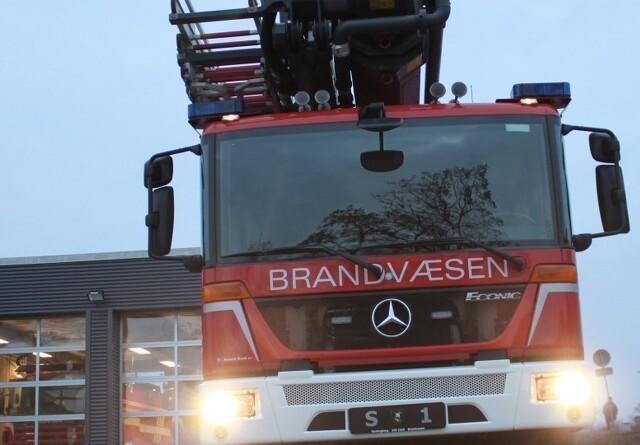 Traktor var skyld i brand