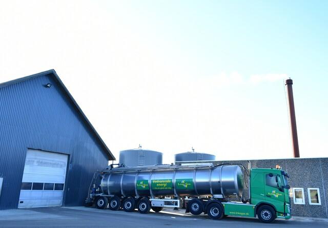 Biogasanlæg fjerner klimagasser