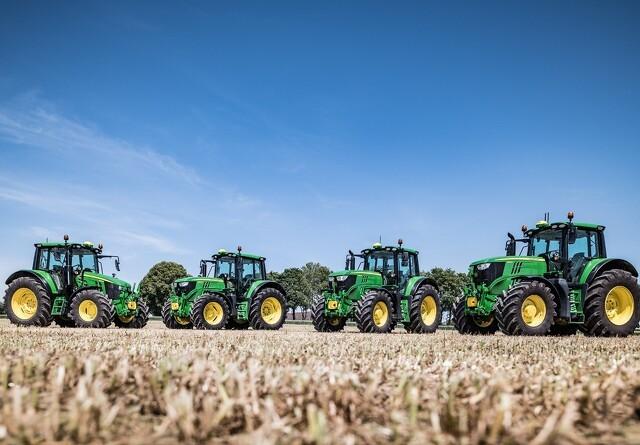 John Deere kommer med ny traktor serie